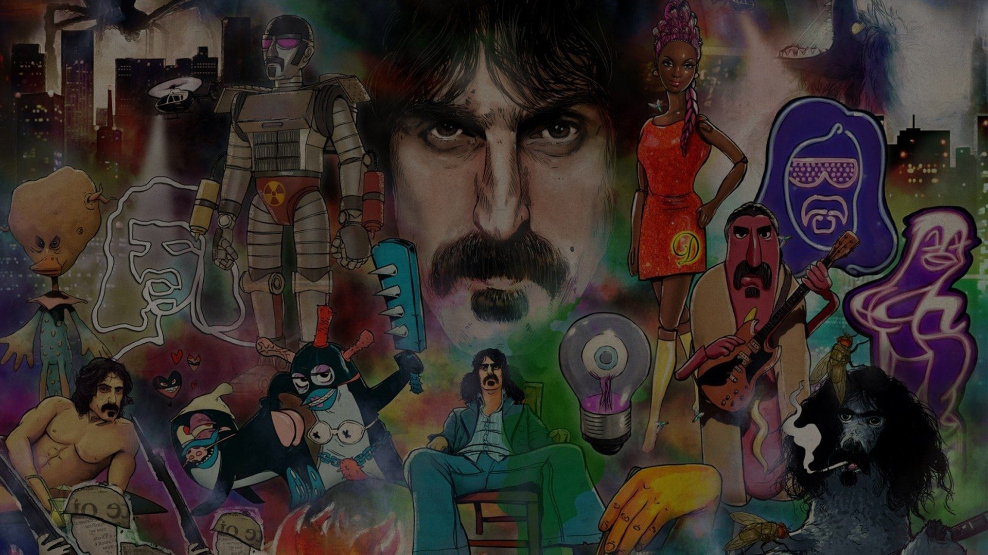On Holograms,  Nostalgia and  Frank Zappa